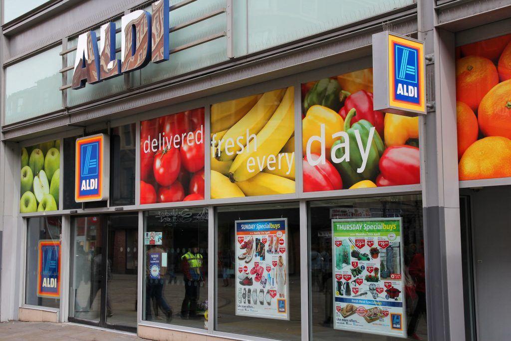 High street supermarket