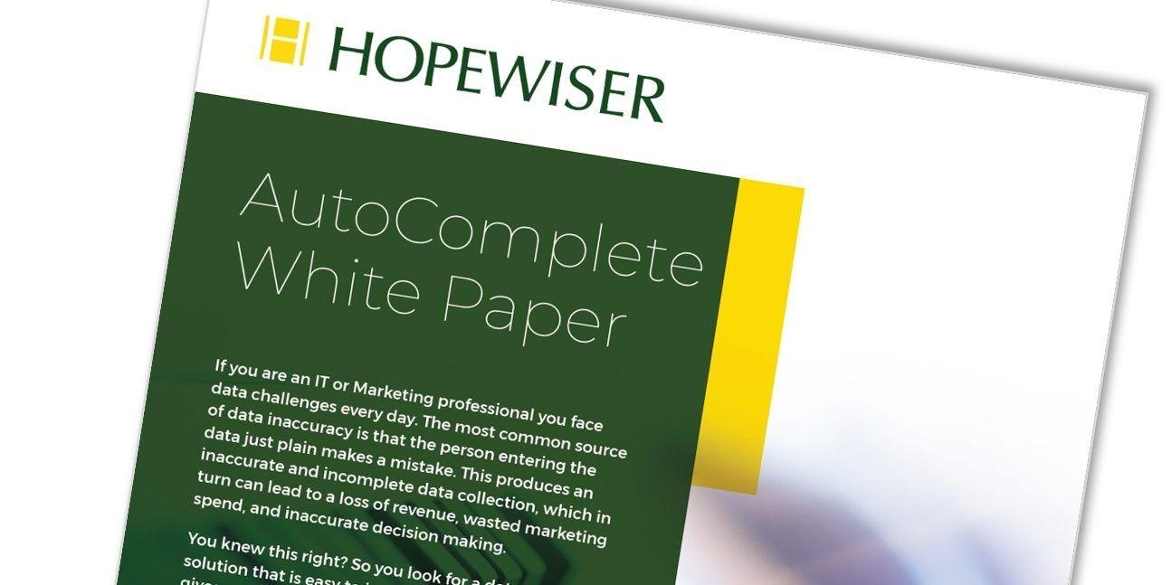 AutoComplete White Paper